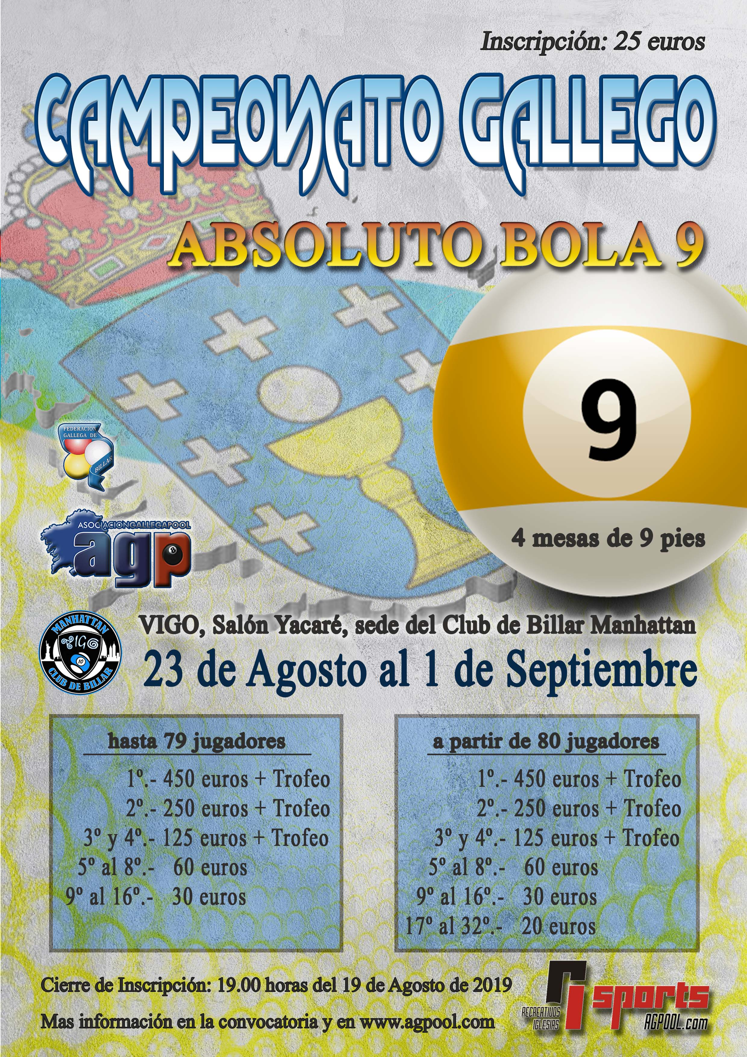 CAMPEONATO GALLEGO ABSOLUTO BOLA-9